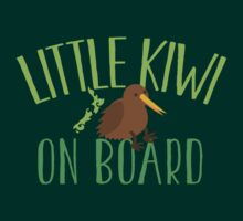 Little kiwi on board (New Zealand baby maternity pregnancy design) by jazzydevil