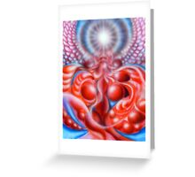 Cellular Evolution Greeting Card