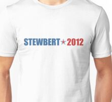 Stewbert 2012 Red/Blue A Unisex T-Shirt