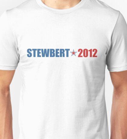 Stewbert 2012 Red/Blue A Unisex T-Shirt