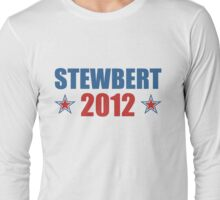 Stewbert 2012 Red/Blue B Long Sleeve T-Shirt