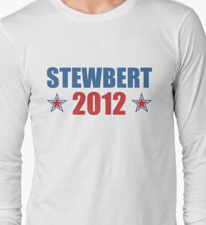 Stewbert 2012 Red/Blue B Long Sleeve T-Shirt