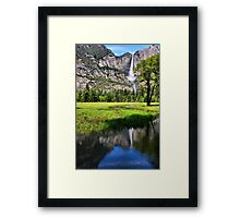 A Valley View Framed Print