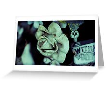 porcelain bouquet Greeting Card