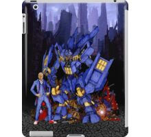 12th Doctor with Dalek Buster iPad Case/Skin