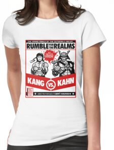 Let's Get Ready to Kombat! Womens Fitted T-Shirt