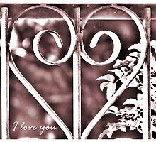 ~ I love you ~ by Donna Keevers Driver