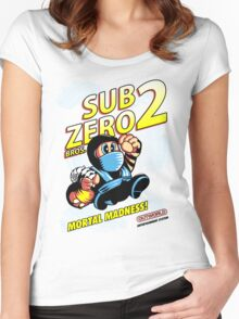 Super SubZero Bros. 2 Women's Fitted Scoop T-Shirt