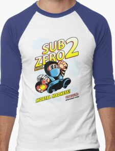 Super SubZero Bros. 2 Men's Baseball ¾ T-Shirt