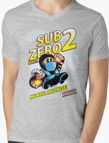 Super SubZero Bros. 2 Mens V-Neck T-Shirt