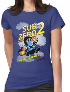 Super SubZero Bros. 2 Womens Fitted T-Shirt