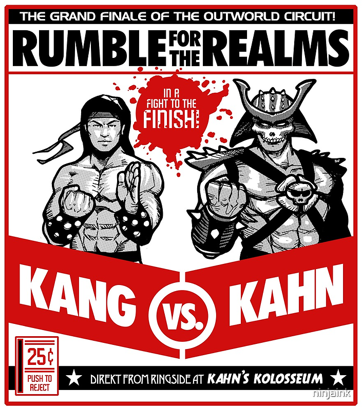 Let's Get Ready to Kombat! by ninjaink