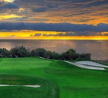 The 11th Green by Eddie Yerkish