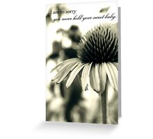 Never Held Greeting Card