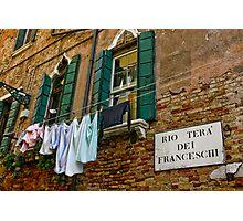 Faccio Il Bucato Domenica Photographic Print
