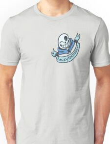 Lazybones - Comic SANS T-Shirt