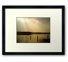 Rayo de Sol Framed Print