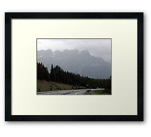 Out Of The Mists of Time Framed Print