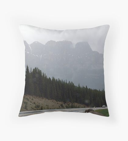 Out Of The Mists of Time Throw Pillow