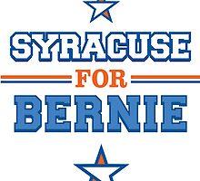 Syracuse for Bernie by noxandlumen