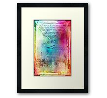 Reduced and Dwindling in Complexity Framed Print