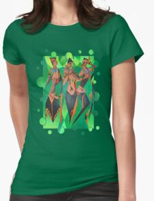Diamonds from Sierra Leone Womens Fitted T-Shirt
