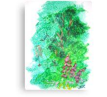 Sponge garden Canvas Print