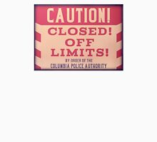 BioShock Infinite – Closed by Order of the Columbia Police Authority Sign T-Shirt