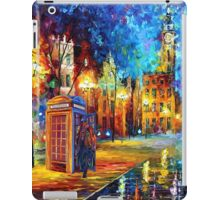 Sherlock Phone booth and Big ben art painting iPad Case/Skin