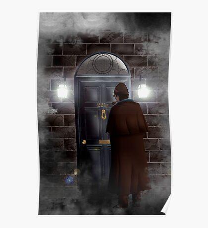 Haunted house Baker street 221b Poster