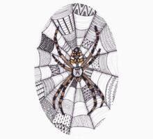 Golden Spider Baby Tee