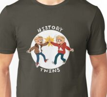 Canada and America History Twins Unisex T-Shirt