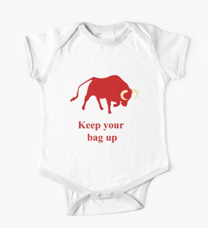 Keep your bag up red Kids Clothes