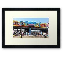 Bumper Cars Italian Jersey Shore + Celebs Framed Print