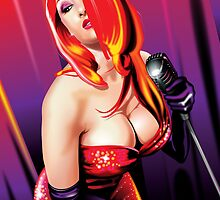 Jessica Rabbit by Brian Gibbs