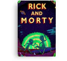 Rick and morty...Run Morty Run  Canvas Print
