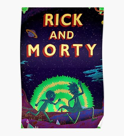 Rick and morty...Run Morty Run  Poster