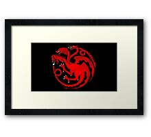 """The Three Heads of the Dragon"" Framed Print"