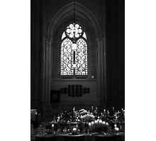 Candlelit Cathedral Photographic Print
