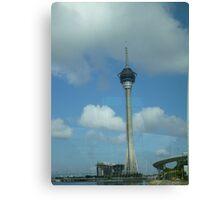 AJ Hackett Macau Tower Canvas Print