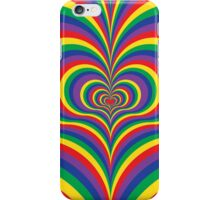 Colorful Psychedelic Love iPhone Case/Skin