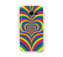 Colorful Psychedelic Love Samsung Galaxy Case/Skin