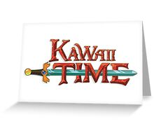 Kawaii Time Greeting Card
