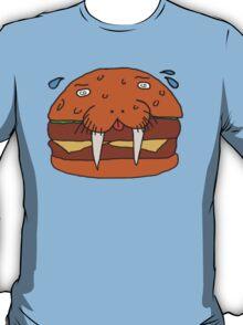 Cheeseburger Walrus T-Shirt