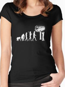 VW BUS Evolution Women's Fitted Scoop T-Shirt