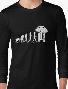 VW Evolution -- Beetle Long Sleeve T-Shirt