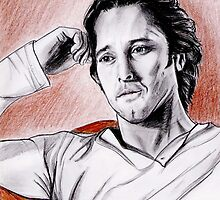 Alex O'Loughlin portrait by jos2507