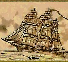 My First Clipper Ship by Dennis Melling