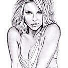 Scarlett Johansson portrait by jos2507