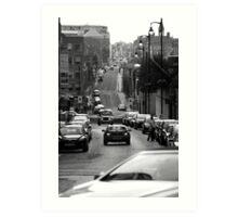 Birmingham Street View Art Print